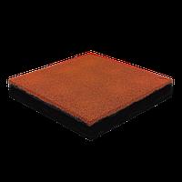 Резиновая плитка 40 мм (оранжевая)