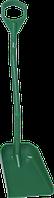 Ергономічна лопата з короткою ручкою та невеликим совком, 1110 мм (з D-подібною ручкою)Vikan (Данія)
