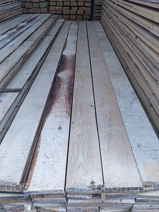 Доска полу обрезная 25 мм х 100 мм х 4 метра Для Забора ,Опалубки ,Сарая