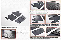 Mercedes Vito W639 2004-2015 гг. Резиновые коврики (3 шт, Stingray)