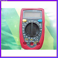 Цифровой мультиметр тестер вольтметр DT 33C