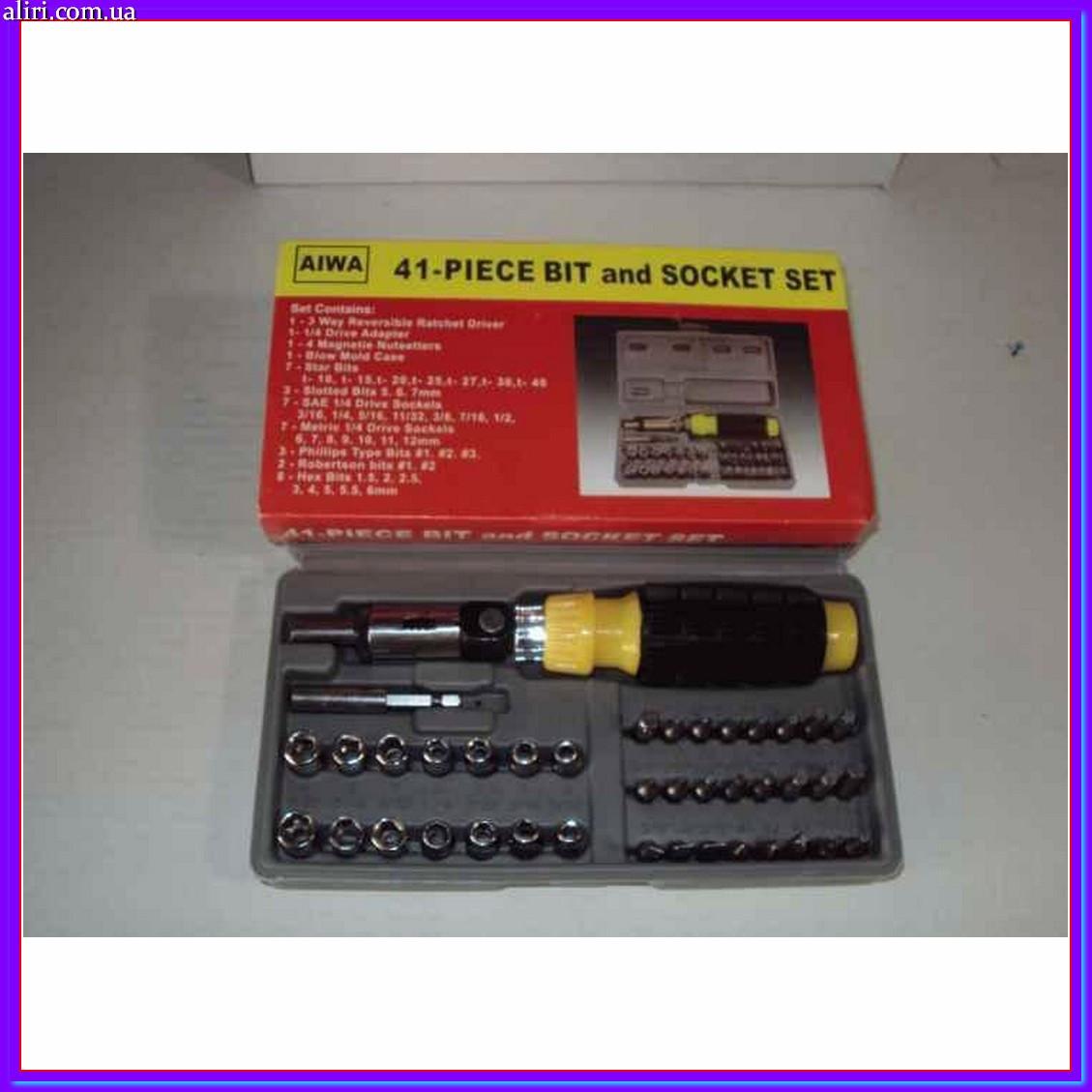 Набор инструментов Aiwa 41 предмет