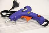 Пистолет для силиконового клея XL-E20, термопистолет диаметр 7 мм, фото 4