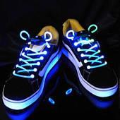 Шнурки светящейся 250216-428