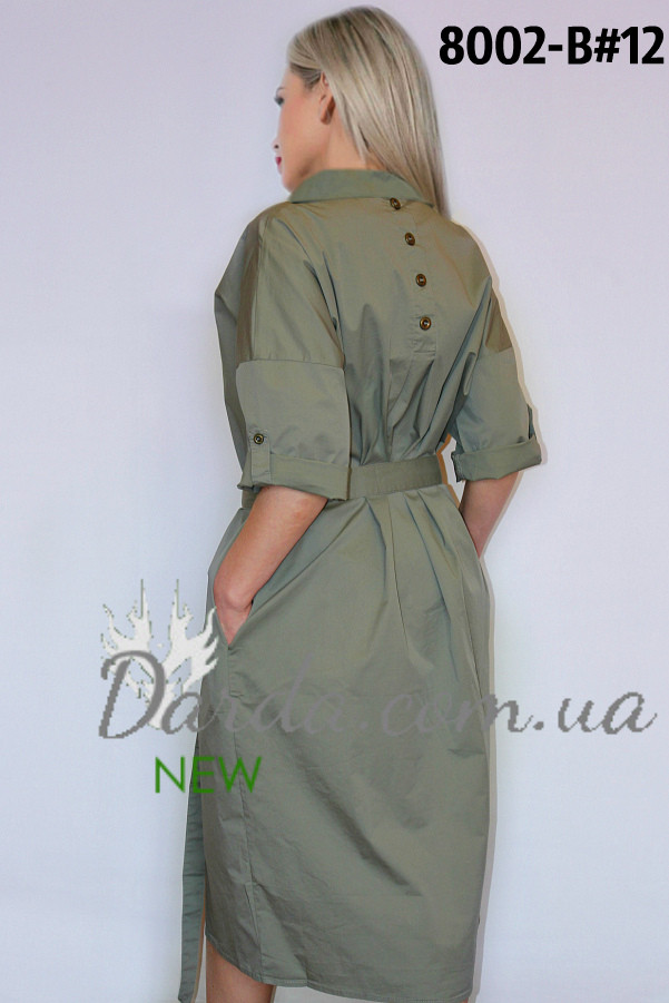 d814ab2cdd08820 Женское платье рубашка большого размера Ylanni 8002 - Интернет-магазин  Darda-Prom.ua