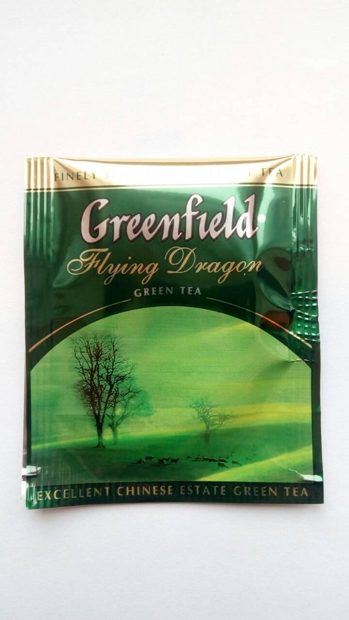 Чай Greenfield Flying Dragon 100 пак.