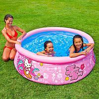 Детский надувной бассейн Hello Kitty Intex 28104