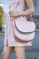 Сумка Daily с клапаном светло розовый натурель, фото 1