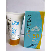 Солнцезащитный крем Shiseido Perfect Sparkle Sunscreen SPF 50 PA +++ MUS