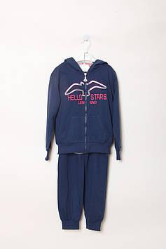 Спортивный костюм Happy House 4 year (99-104 cm) синий, серый (RY-QQ-566_Blue-gray)