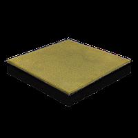 Резиновая плитка 40 мм (желтая)