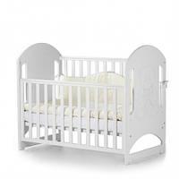 Детская кроватка Соня ЛД8 без ящика Белый