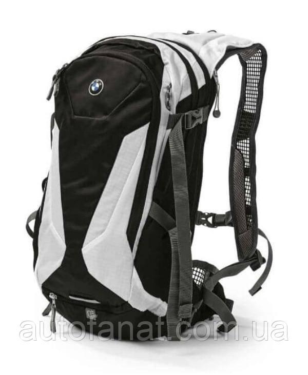 Оригинальный велосипедный рюкзак BMW Bike Rucksack, Professional Series, Grey/Black (80922454877)