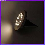 Уличный светильник Solar Disk Lights на солнечной батарее, фото 3