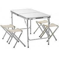 Розкладний стіл для пікніка зі стільцями Folding Table