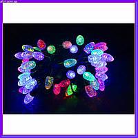 Новогодняя фигурная гирлянда Шишки 40 LED 5,8 м, мультицвет