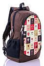 Рюкзак городской школьный с принтом Love Zaino (511), фото 2