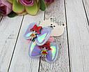 Детские резиночки для волос Бантики голограмма с куклами LOL 10 пар/уп., фото 2