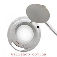 """Лампа-лупа 6017 LED 5D с регулировкой яркости 1-12W """"Белый холодный и теплый свет"""""""
