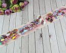 Детские резиночки для волос Бантики голограмма с куклами LOL 10 пар/уп., фото 3