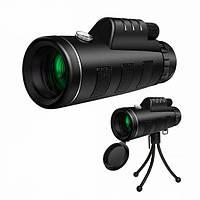 🔝 Мощный монокуляр для охоты Панда Panda Monocular 40x60 объектив для смартфона в Киеве и Украине | 🎁%🚚