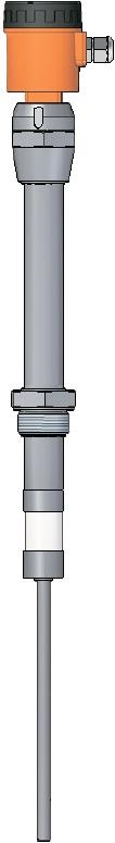 Емкостный датчик уровня серии ECAP 408A для клейких, лужных, кислотных веществ