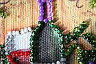 Набор для вышивки бисером Магнит Каберне (7 х 8 см) Абрис Арт AMA-187, фото 2