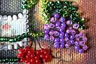 Набор для вышивки бисером Магнит Каберне (7 х 8 см) Абрис Арт AMA-187, фото 3