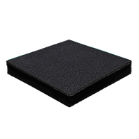 Резиновая плитка 40 мм (темно-серая)