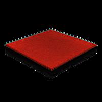 Гумова плитка 40 мм (червона)