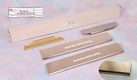 Hyundai IX20 Накладки на пороги Натанико стандарт