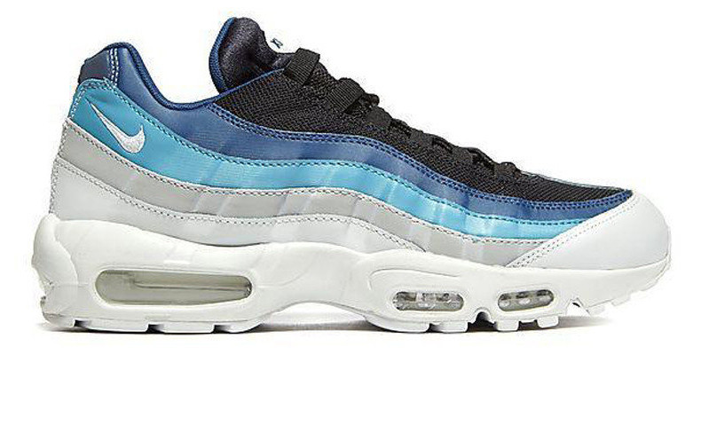 9edc67d9 Кроссовки мужские Nike Air Max 95 Essential Blue/White/Black (Реплика ААА  класса