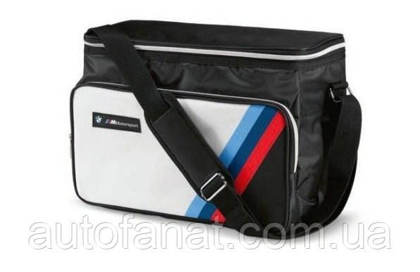 Оригінальна сумка-термос BMW M Motorsport Cool Bag, White/Black (80222463074)