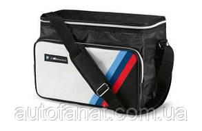 Оригинальная сумка-термос BMW M Motorsport Cool Bag, White/Black (80222463074)