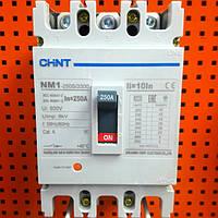 Автоматический выключатель 3 полюса 250 А серии NM1-250S