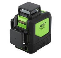 Лазерный уровень 3d XEAST XE-903 12 линий 360° зеленый луч Osram