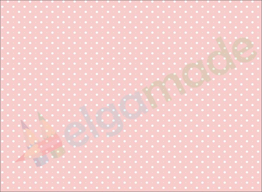 Фетр з принтом ГОРОШОК НА ПЕРСИКОВОМУ, 22x30 см, корейська м'який 1.2 мм