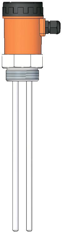 Емкостный датчик уровня серии ECAP 408Tp для клейких, лужных, кислотных веществ