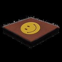 Резиновая плитка с логотипом 40 мм