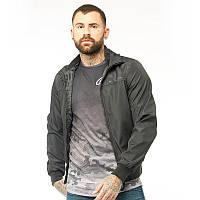 Мужская куртка ветровка Crosshatch Smartz черная оригинал