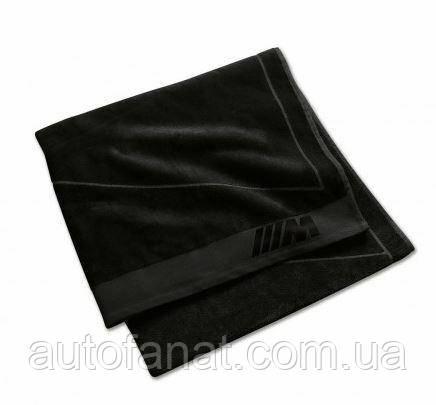 Оригинальное банное полотенце BMW M Towel, Black (80232454741)