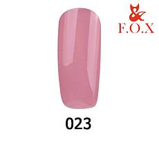 Гель-лак FOX Pigment № 023 (тілесно-ліловий), 6 мл