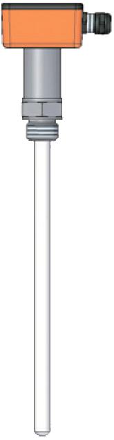 Емкостный датчик уровня серии ECAPm 101 для проводящих жидкостей