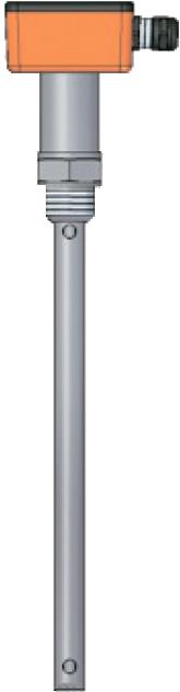 Емкостный датчик уровня серии ECAPm 203 для низкопроводящих жидкостей