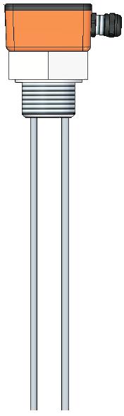 Емкостный датчик уровня серии ECAPm 408T для клейких, лужных, кислотных материалов