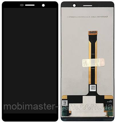 LCD модуль Nokia 7 Plus Dual Sim (TA-1046) черный, фото 2