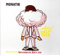 Музичний сд диск МОНАТИК Love It ритм (2019) (audio cd)