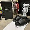 """Сланцы Ysl Saint Laurent Jimmy Sandals In Leather """"Черные"""", фото 2"""