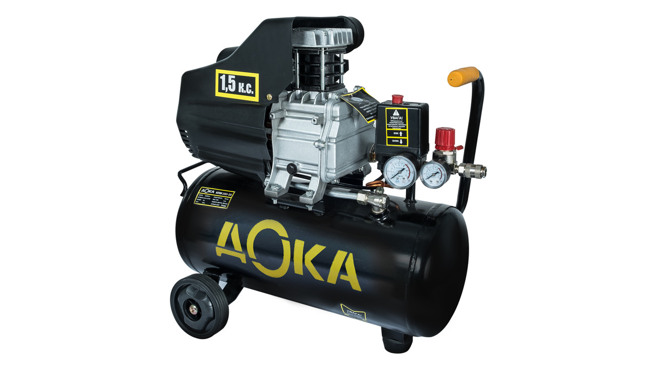 Компрессор 170 л/мин, 1,5 кВт, 20л, ДОКА КПМ 220-20