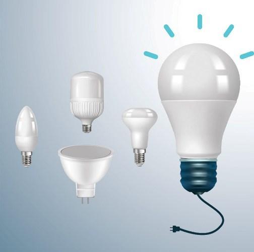 Лампы светодиодные